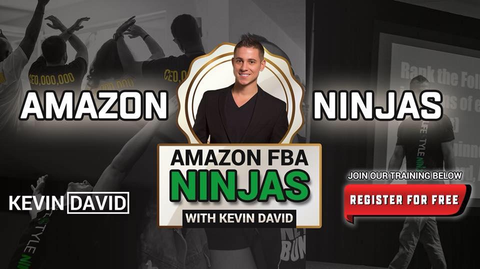 Amazon fba ninjas Facebook Community by Kevin David